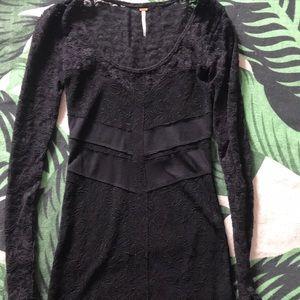Lace freepeople mini dress